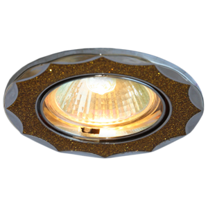 Светильник галоген Росток ELP149 CH+GD