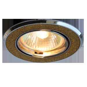 Светильник галоген Росток ELP150 CH+GD